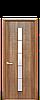 Дверь межкомнатная ДЮНА 1S СО СТЕКЛОМ САТИН, фото 3