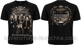 "Рок футболка Nightwish ""Endless Forms Most Beautiful"""