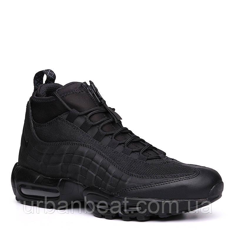 e9c9af34 Мужские Кроссовки Nike Air Max 95 Sneakerboot All Black Реплика — в  Категории