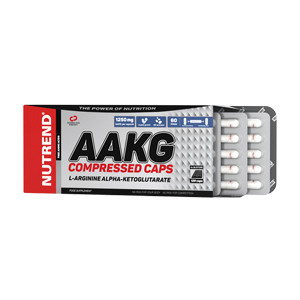 NUTREND AAKG Compressed Caps 60 caps
