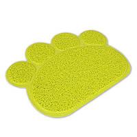 Коврик для Домашних животных Paw Print Litter Mat (подстилка для питомца Поу Принт Лител Мет)