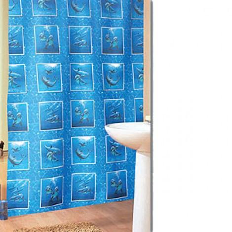 Штора для ванной комнаты MIRANDA sea aquarium