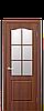 Дверь межкомнатная КЛАССИК СО СТЕКЛОМ САТИН ПВХ, фото 2