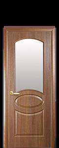 Дверь межкомнатная ОВАЛ СО СТЕКЛОМ САТИН