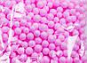 Шарики пенопластовые Розовые пенопластовый заготовка 7 мм 10 грамм/уп