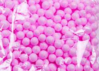 Шарики пенопластовые Розовые пенопластовый заготовка 7 мм 10 грамм/уп, фото 1