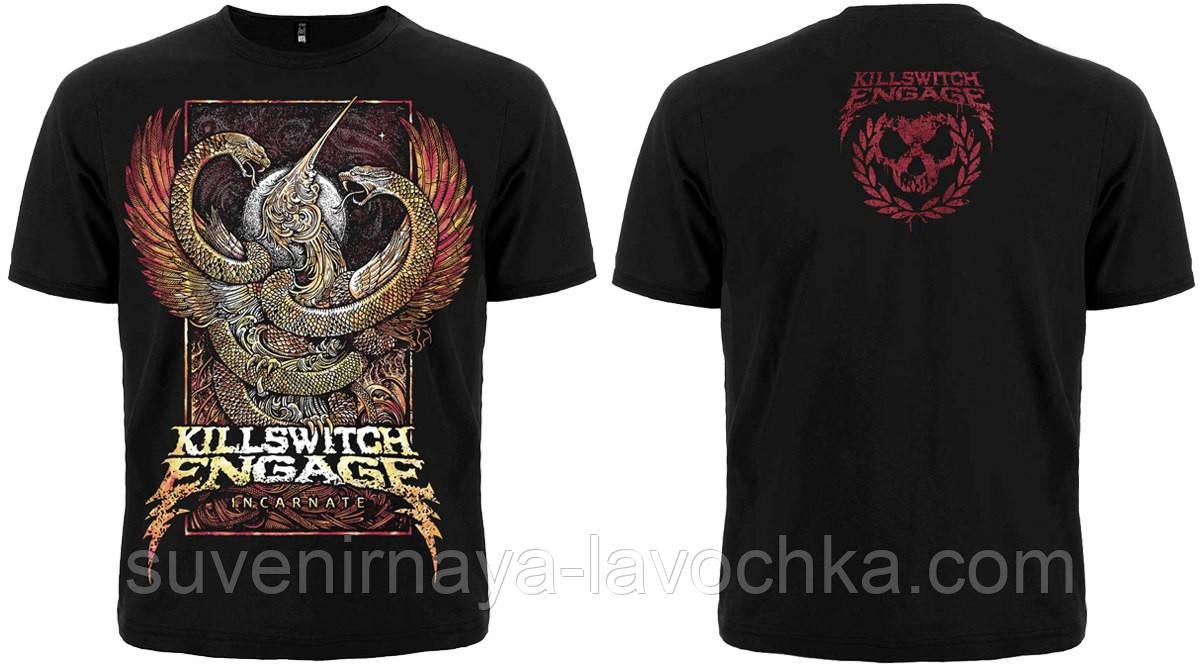 """Рок футболка Killswitch Engage """"Incarnate"""""""