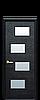 Дверь межкомнатная САХАРА 4S СО СТЕКЛОМ САТИН, фото 2