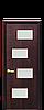 Дверь межкомнатная САХАРА 4S СО СТЕКЛОМ САТИН, фото 4