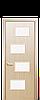 Дверь межкомнатная САХАРА 4S СО СТЕКЛОМ САТИН, фото 5