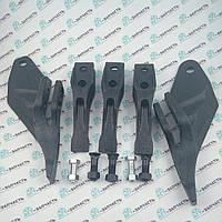 Комплект зубов на ковш экскаватора JCB 3CX, JCB 4CX, Volvo BL71