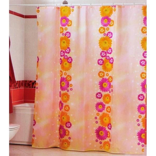 Штора для ванной комнаты MIRANDA flower path