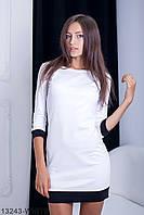 Стильне біле повсякденне плаття Fansy