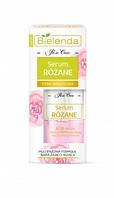 Двухфазная сыворотка для чувствительной кожи лица Bielenda Rose Care