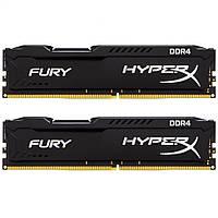 Модуль памяти для компьютера DDR4 32GB (2x16GB) 21333 MHz HyperX FURY Black Kingston (HX421C14FBK2/32)