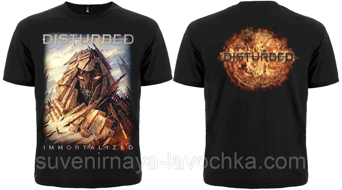 "Рок футболка Disturbed ""Immortalized"""