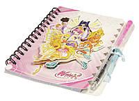 Блокнот для девочек X-96 с ручкой