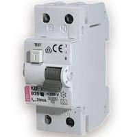 Дифференциальные автоматические выключатели ETI КZS-2M