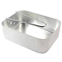 Большая полевая сковорода из набора посуды NATO mess kit. Оригинал.