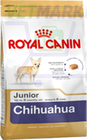 Royal Canin (Роял Канин) Chihuahua Junior (для щенков породы чихуахуа до 8 месяцев), 0,5 кг