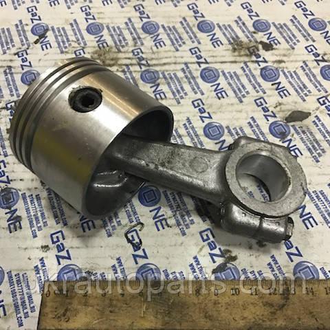 Поршень компрессора 72,0 А 29 МАЗ ПАЗ в сборе (поршень шатун палец стопор) (А29.05.101)