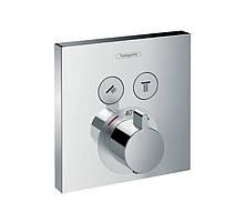 Термостат для душа Hansgrohe ShowerSelect 15763000 хром