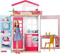 Домик для Барби + кукла Барби 2017/ Barbie House +Barbie Doll DVV48