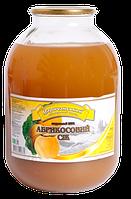 Сок абрикосовый 3л