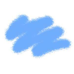 """Краска голубая авиа, серия """"Мастер акрил"""""""