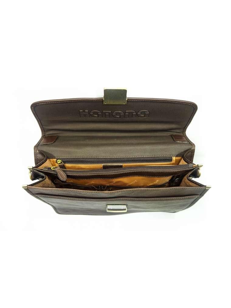 a445017ceb9d Портфель мужской katana кожаный коричневый 31022: продажа, цена в ...