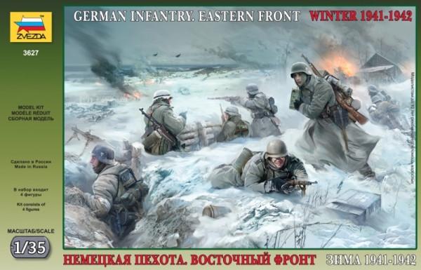 Немецкая пехота. Восточный фронт. Зима 1941-1942гг.