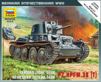 Немецкий танк Т-38