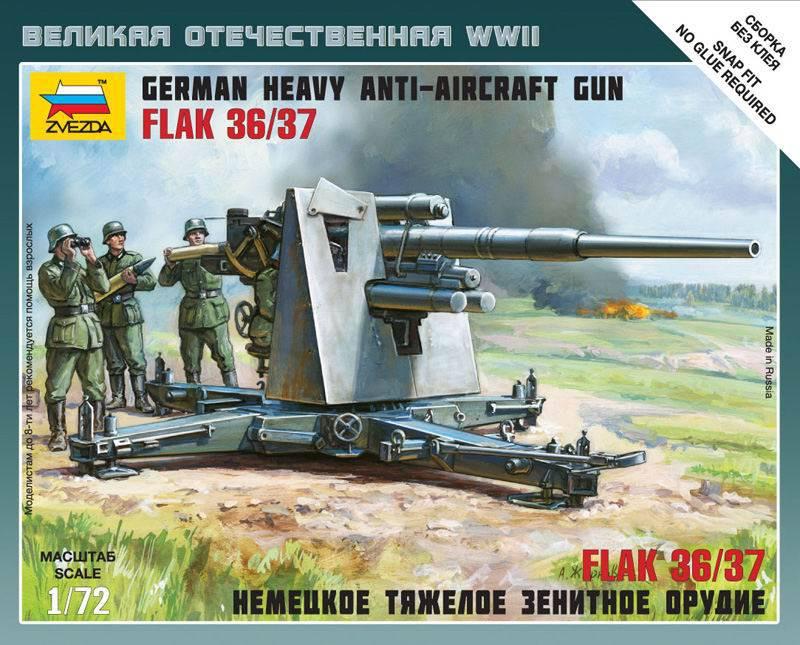 Немецкая зенитка Flak-36