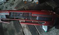 Бампер передний красный дефект на Nissan Almera N15 1995г.-1998г