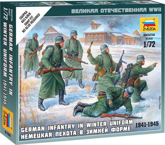 Немецкая пехота 1939-42 гг (зима)