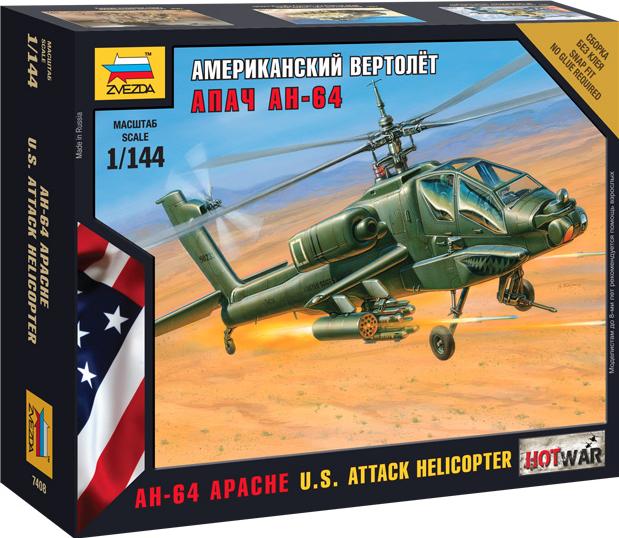 """Американский вертолет """"Апач"""""""