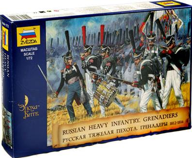 Русские гренадеры 1812 гг.