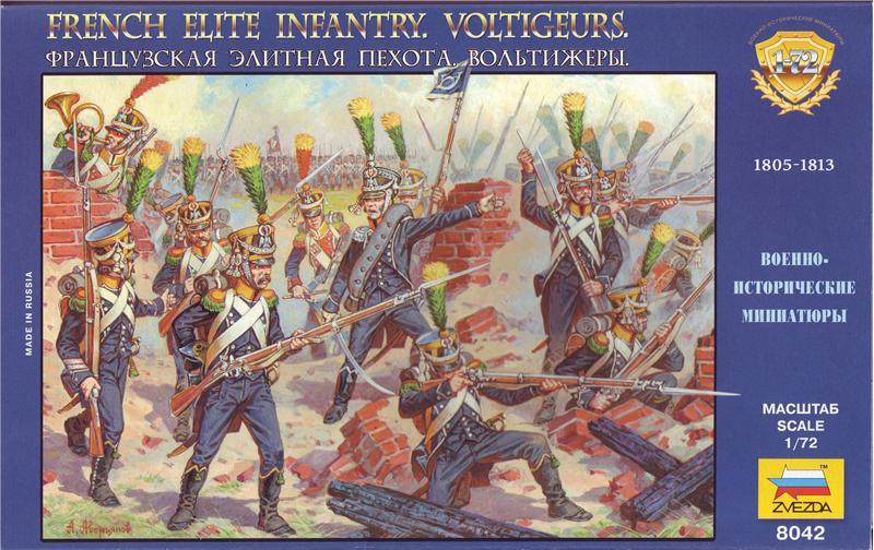 Франц. элитная пехота. Вольтижеры.