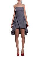 Платье женское, серое, мультисезон P-RIZE 7-1