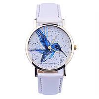 Стильные женские часы с изображением птичка, фото 1