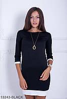 Стильне чорне повсякденне плаття Fansy