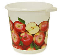 Ведро хозяйственное 10 л (яблоки), TM Idea М2426