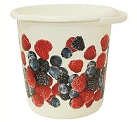 Ведро хозяйственное 5 л (ягоды), TM Idea М2425