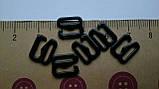 Крючок для бретели черный 8мм, фото 2
