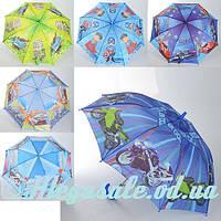 Зонтик детский MK 0871, 6 видов: диаметр 88см, трость 67 см