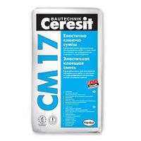 Клей для плитки та каменю Ceresit CM 17, 25 кг