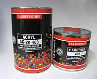 Акриловая эмаль 2:1 АК-2К-400 КОЛОРИН (комплект 1л + 0,5л)