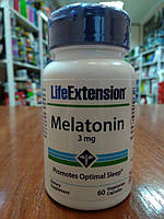 Мелатонин Life Extension Melatonin 3 mg  60 Caps.