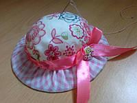 """Игольница из ткани для подарка/сувенира """"Шляпка"""""""