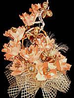 Букет из конфет на подарок Сладкий персик